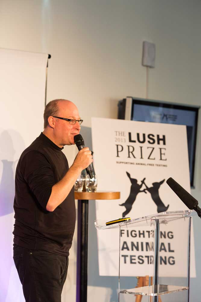 Photo: Lush Prize conference and awards ceremony 2013