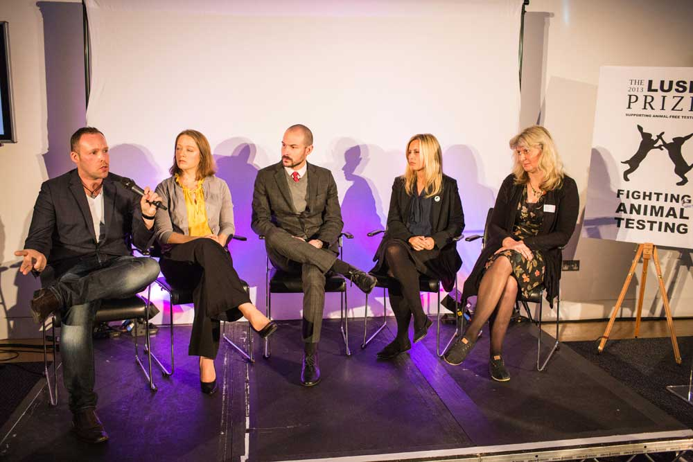 Photo: Lush Prize conference: Is One R the new Three Rs?