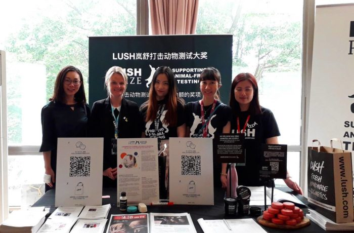 Photo: Lush Prize at China Conference on Alternatives