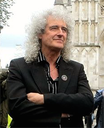 Photo: Dr Brian May